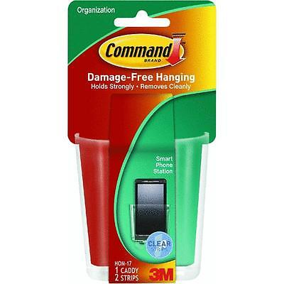 6 Pk 3M Command Cell Phone Charging Basket Adhesive Wall