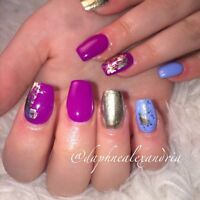 Gel nails ! Same day appointments available !