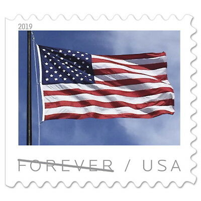 USPS New US Flag (2019) Booklet of 20