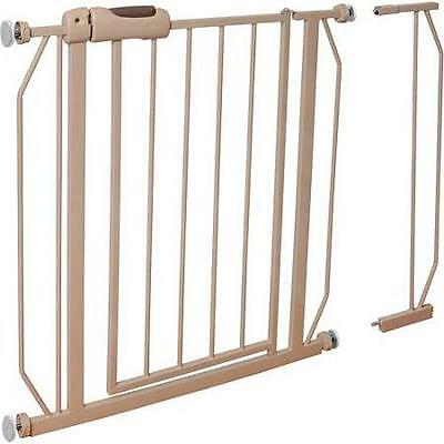 NEW Evenflo Easy Walk-Thru Safety Metal Gate for Baby Toddle