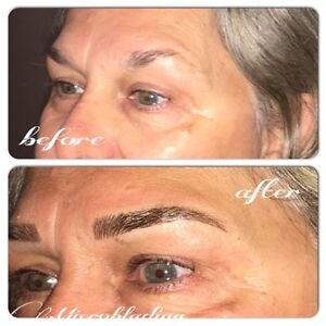 HAIR STROKE EYEBROWS ($279 holiday special) Cambridge Kitchener Area image 10
