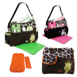 hotMulti-Function-Baby-Diaper-Nappy-Changing-Bag-Changing-Mat-Mummy-Tote-Handbag