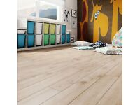 Laminate Flooring 132.66sqm2 available Light Oak