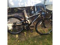 Diamond back mountain bike with upgrades