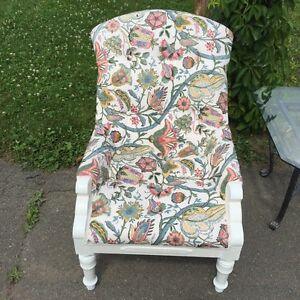 New upholstered chair