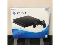 Sony Ps4 Slim 500GB BLACK Brand New n Sealed
