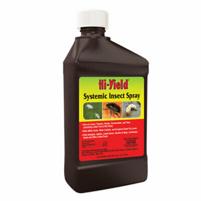 Systemic Insect Spray For Flowers Trees Shrubs Fruits Nuts (16 oz. Concentrate )