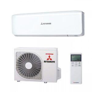 Mitsubishi Single Split Klimaanlage SRK 20 ZS-S Set, 2,0 KW INVERTER