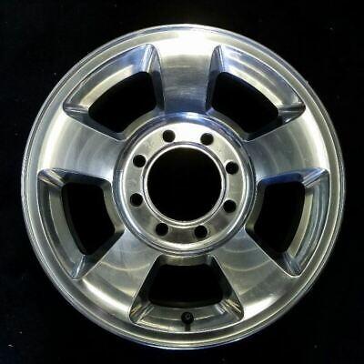 "17"" DODGE 1500 2500 3500 POLISHED 2003-2009 OEM Factory Original Wheel Rim 2187B"