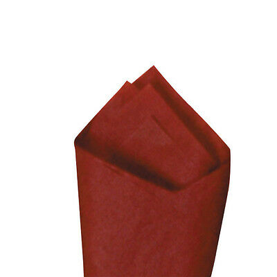 """24 Sheets / Pack 20"""" x30"""" Mulberry (Maroon) Premium Grade Color Tissue Paper"""