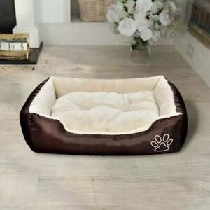 Warm Dog Bed with Padded Cushion