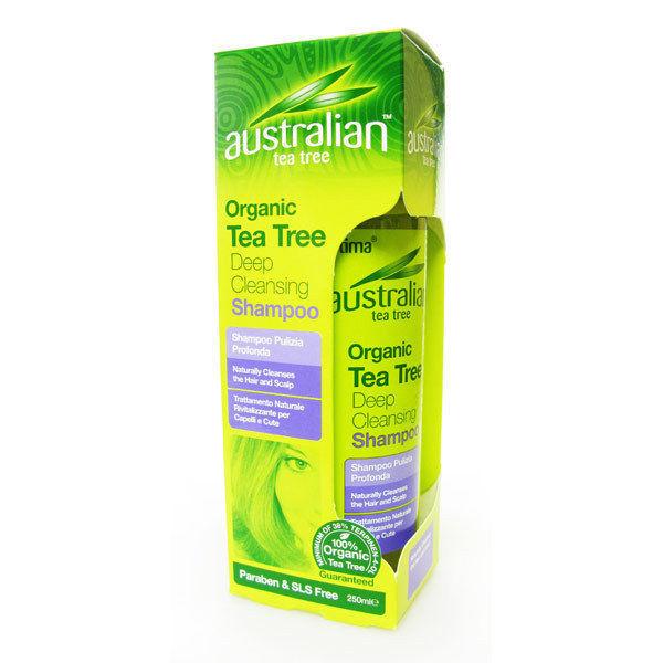 Optima Australian Tea Tree Deep Cleansing Shampoo