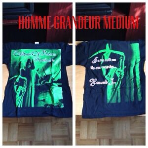 Tshirt metal children of bodom MEDIUM West Island Greater Montréal image 4