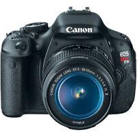 Canon EOS Rebel T3i+ Accessories
