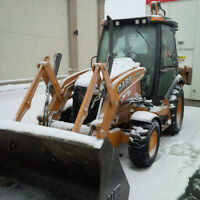 Low Hour Case 580 Super N Backhoe