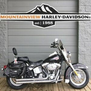 2001 Harley Davidson Motorcycles FLSTC - Softail Heritage Classi