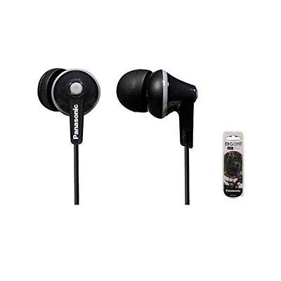 Panasonic RP-HJE125 K In-Ear Only Headphones   HJE125 - Black / Genuine package