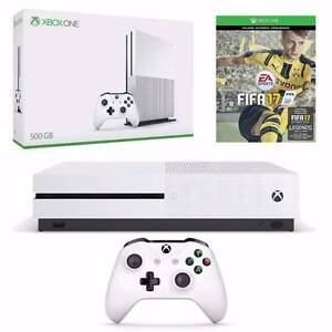 New Xbox One S 500GB + Fifa 17 Manly Manly Area Preview