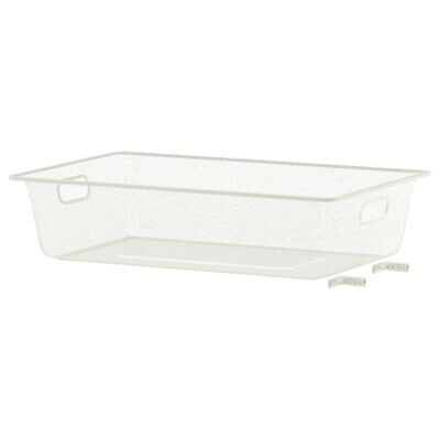 *New* ALGOT Mesh basket, white, 38x60x14 cm *Brand IKEA* 102.185.17