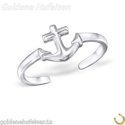 ZEHENRING Anker 925 Echt Silber Zehring Geschenkidee / 330