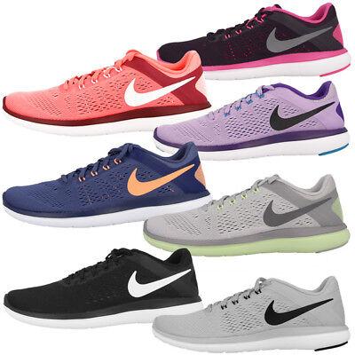 591cc5941de60e Nike Flex 2016 Run Women Schuhe Laufschuhe Damen Sport Freizeit Sneaker  Free BRS