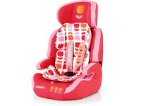 Cosatto ZOOMI Bloom car seat groups 1,2,3. RRP £175