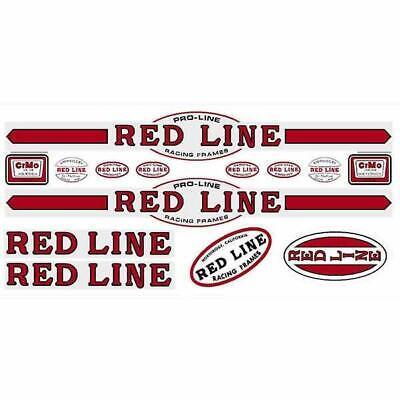 Redline Early Fork RED decals Old school bmx