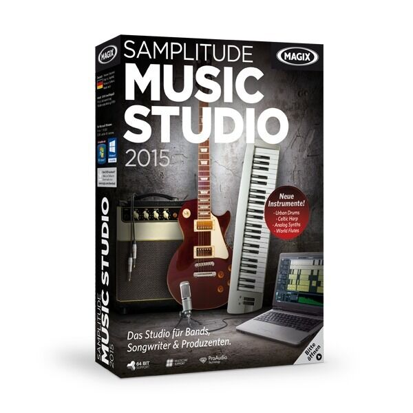 MAGIX Samplitude Music Studio 2015 - NEU & OVP