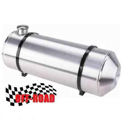 10x23 End Filler Spun Aluminum Gas Tank - Off Road - 7.5 Gallon - 3/8 NPT