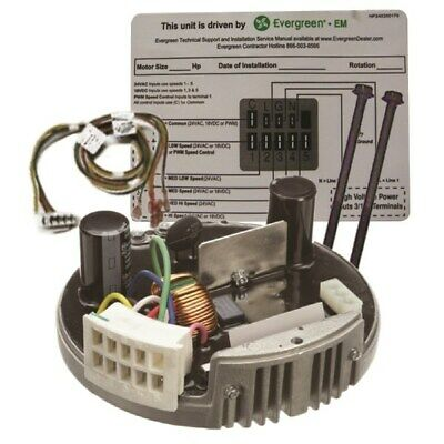 Ge Genteq X13 Ecm Evergreen Em Endura Pro Module For 13 Hp 230v Motor Cw Or Ccw