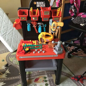 Black and Decker tool station