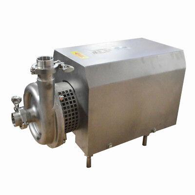 Centrifugal Pump 110v2.2kw 304 Food Grade Sanitary Beverage Pump 10tonh