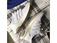 Adidas triple white ultra boosts. UK 7 with box. Great condition