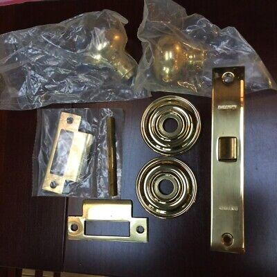 Baldwin Mortise Lh Lock 8530-030 Polished Brass Reversible Whardware
