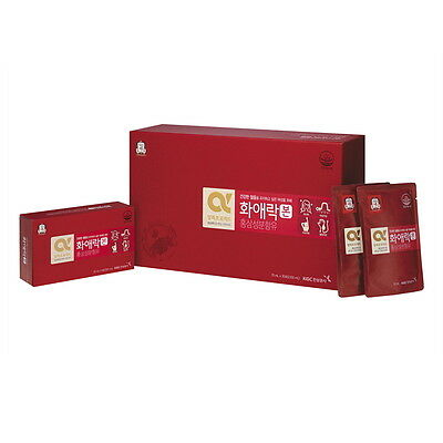 CHEONGKWANJANG HWAAEROK BON Red Ginseng + Oriental Herb For Women 70ml 30 Packs