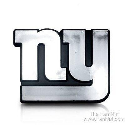 New York Giants Ny Silber Farbe Chrom Raised Auto Emblem Aufkleber Fußball