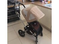 Bugaboo Cameleon 2 Brown and sand with extras