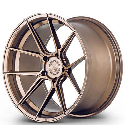 4ea 20x9/20x10 Staggered Ferrada Wheels F8-FR8 Matte Bronze Rims(S4)