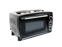 Mini Oven with Two Hotplates