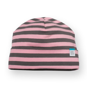 NEW Baby girl beanie hat double layer GOTS organic cotton