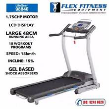 NEW Treadmill.Gel Based Shocks, Programs, Belt 48cm, Touch Screen Malaga Swan Area Preview