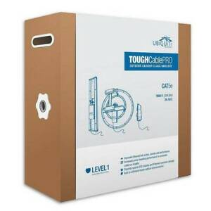 Ubiquiti Tough Cable pro lvl 1 305m CAT5e up to 1000Mbps support Narre Warren Casey Area Preview