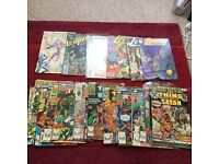 bundle of comics
