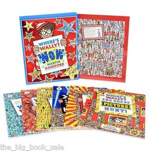Where's Wally? Wow 6 Amazing Books and a Jigsaw - Slipcase - Brand new Paperback