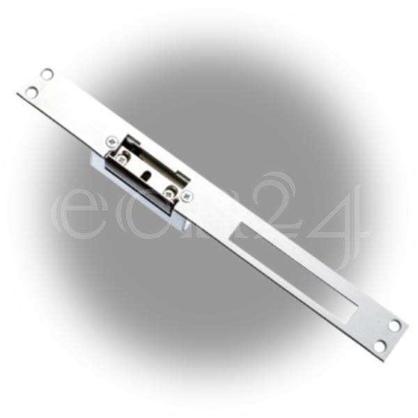 Elektrischer Türöffner - Türbeschlag 25cm alu ähnl.