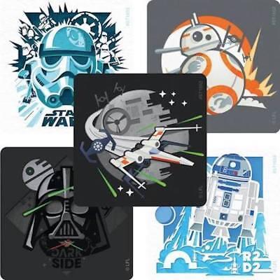 Star Wars Teacher (25 Star Wars dynamic  Stickers Party Favors Teacher Supply )