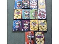 Sims 2 lots of discs