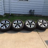 """Rims and tires 18"""" tires size 235 55/r18"""