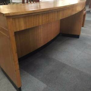 Curved Art-Deco Counter / Desk Geelong Geelong City Preview