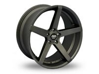 "19"" Staggered Gunmetal AVA Miami & tyres for E90, E91, E92, E93 BMW 3 Series, Vauxhall Insignia ETC"